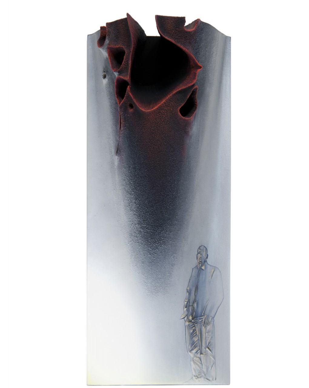 Passeggiata stoica 5 - 2014 - cm 24,7x61 - depth cm 13,5