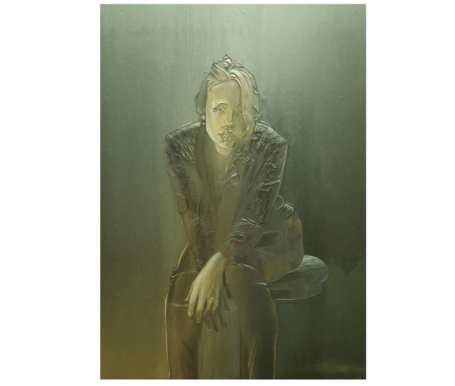 Ritratto in nero. Lily Le particolare 2000/01
