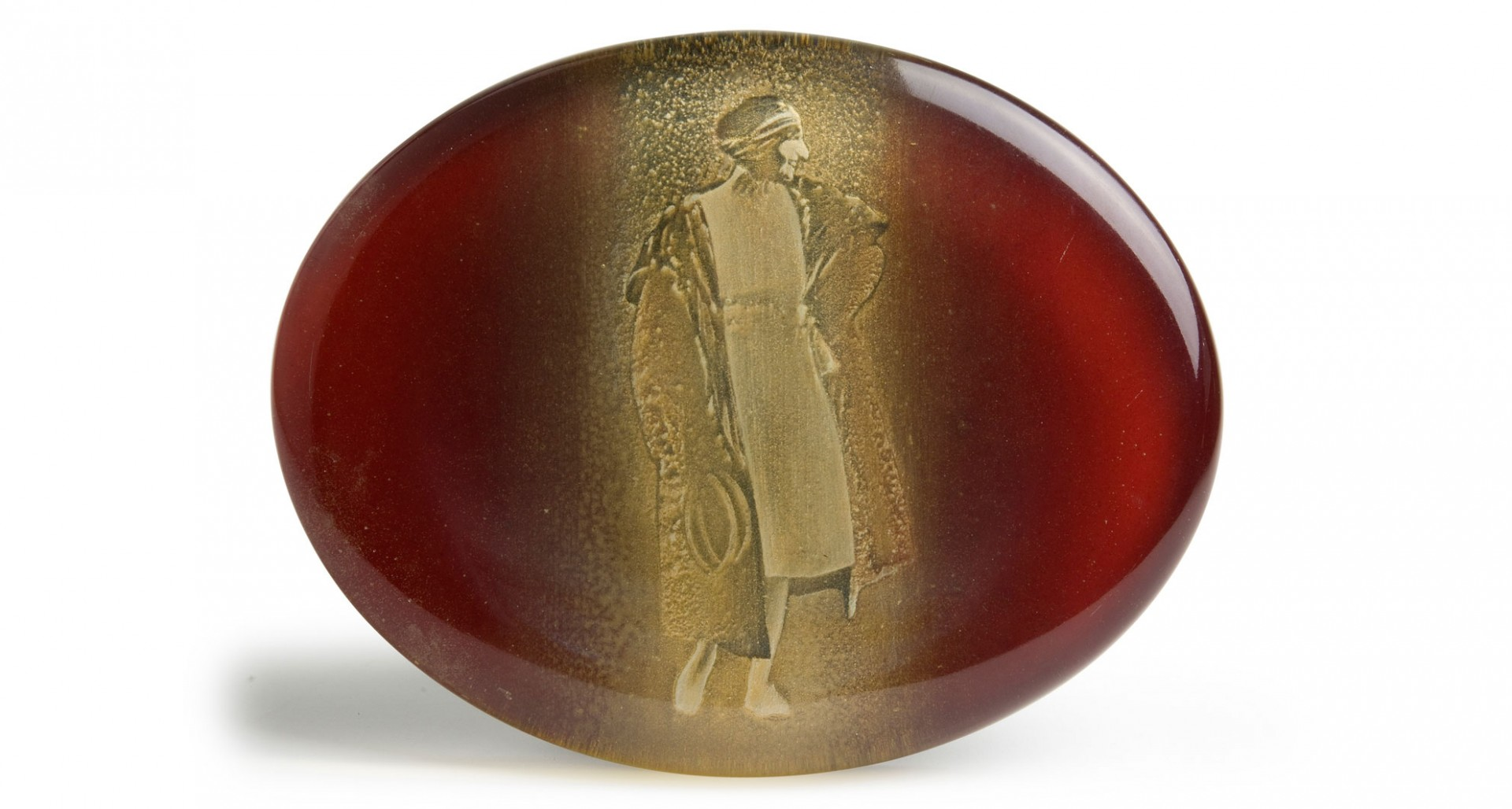 Suzanne rosso Cina 2004 - cm 18,5x14,5 - acrylic, epoxy glazing