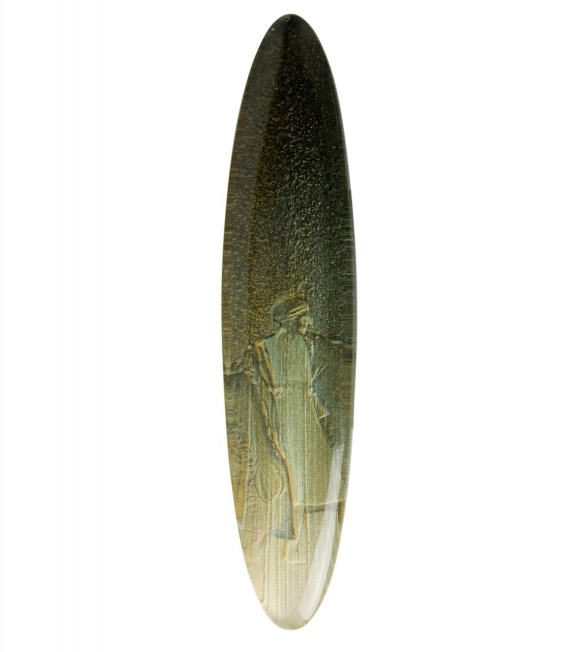 Suzanne 2004 - cm 6x27,5 - acrylic, epoxy glazing
