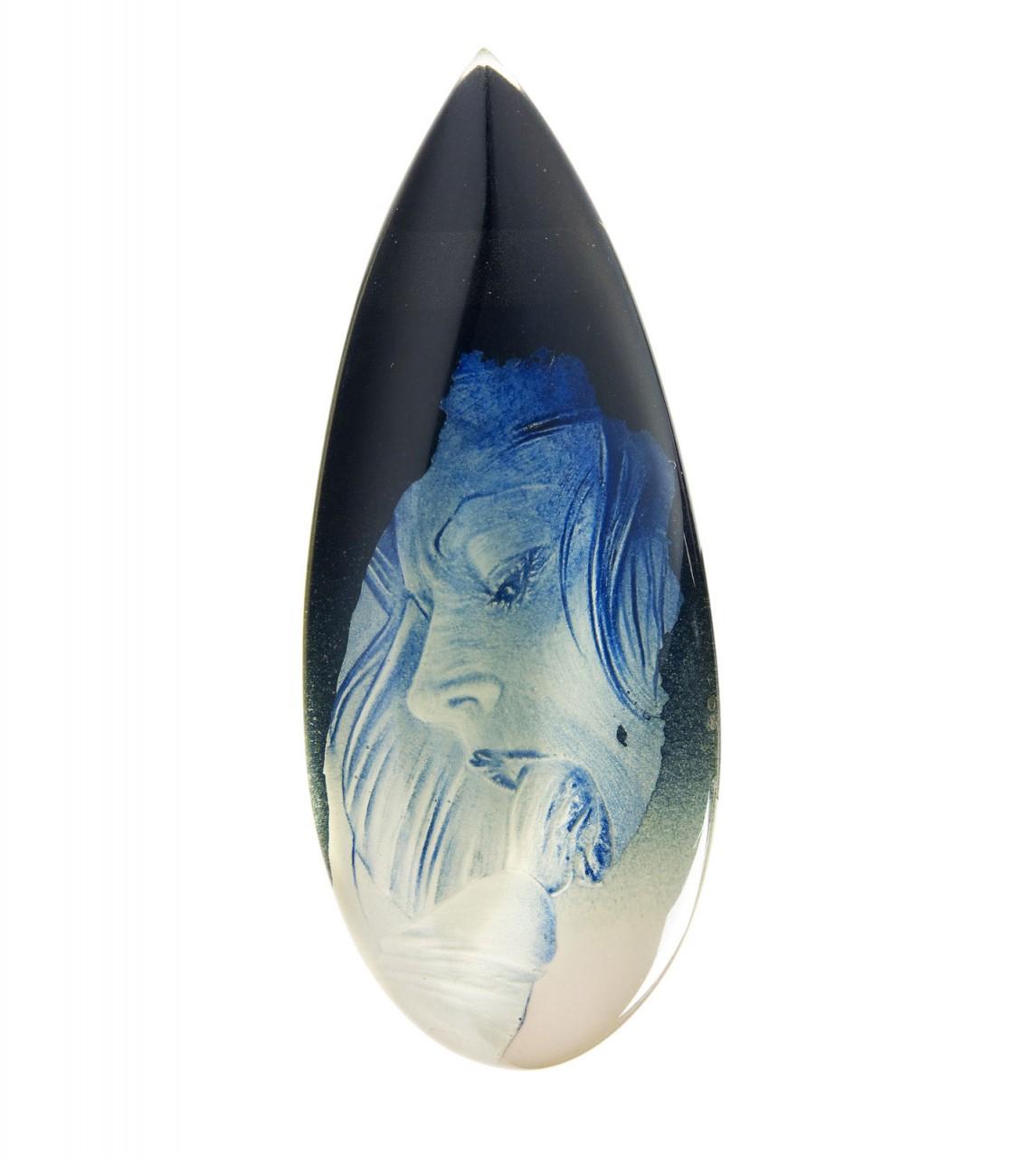 Goccia 2009 - cm 26x10 -  acrylic, epoxy glazing